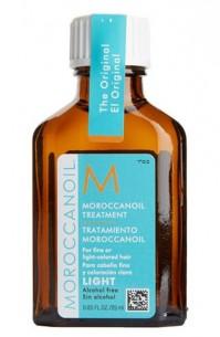 Moroccanoil Treatment Light  輕柔摩洛哥順髮油 幼細、白髮及染過髮質適用 25ml/ 100ml/125ml/ 200ml